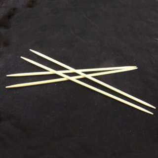 7size 10 Double Pointed Bamboo Knitting Needles 14pcs