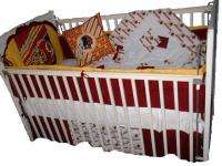 Baby Nursery Crib Bedding Set w/Washington Redskins NEW
