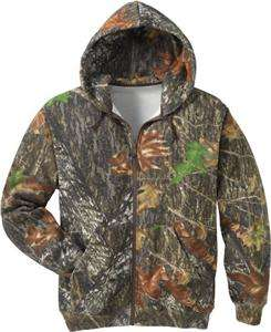 MOSSY OAK NEW BREAK UP ZIP HOODIE SWEATSHIRT JACKET NEW