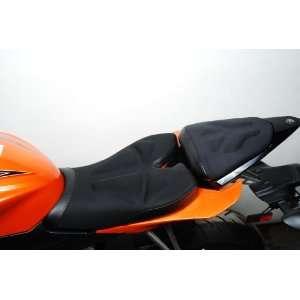 Saddlemen Gel Channel Tech One Piece Solo Seat with Rear