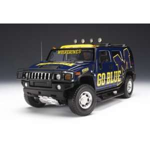 /Dcp Michigan Wolverines Hummer® H2 Diecast Car/truck Toys & Games
