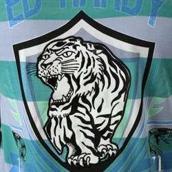 Ed Hardy Mens LA Tiger Crest Polo Shirt