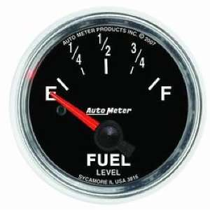 3816 GS 2 1/16 240 33 ohms Short Sweep Electric Fuel Level Gauge