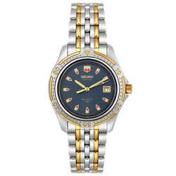 Seiko Sports 150 Mens Quartz Two tone Watch