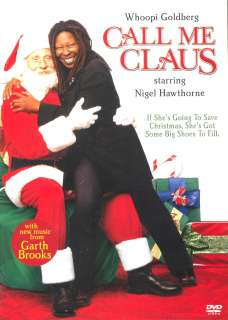 CALL ME CLAUS Whoopi Goldberg Nigel Hawthorne NEW DVD