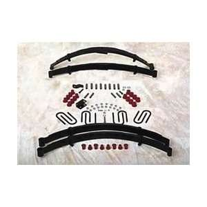 Softride Leaf Spring System; Suspension Lift Kit