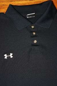 2X * black UNDER ARMOUR s/s POLO shirt * XXL 2XL