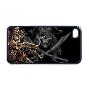 Pirates skull and crossbones Apple iPhone 4 or 4s Case