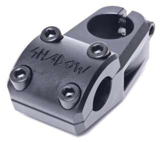 conspiracy ravager top load bmx bicycle stem color is matte black new