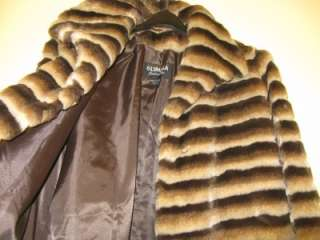 womens winter faux fur Coat jacket size M L XL $209