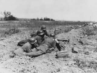 German Machine Gun WWI Photographic Print by Robert Hunt at AllPosters