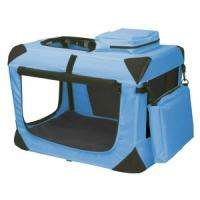 PET GEAR GENERATION 2 OCEAN BLUE TRAVEL SOFT DOG CRATE PG5521OB FREE