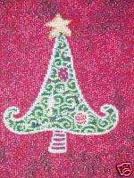CHRISTMAS HOLIDAY TREE RED RUG TAPESTRY RUG MAT