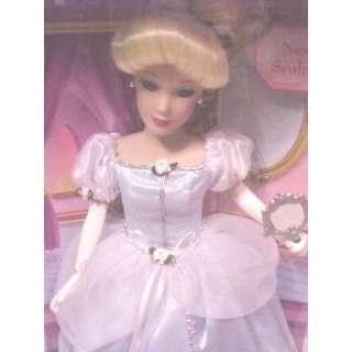 Disney Brass Key Porcelain Cinderella doll Reflections
