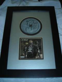 50 Cent Lloyd Banks Young Buck Signed AUTOGRAPH CD Cover FRAMED G UNIT