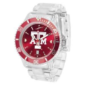 Texas A&m University Aggies Ice Anochrome   Mens College Watches