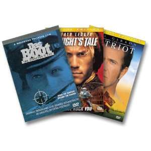 Warriors 3 Pack (The Patriot / A Knights Tale / Das Boot