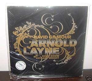 David Gilmour Arnold Layne 7 NEW vinyl EP Pink Floyd