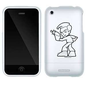 Star Trek Stylized Kirk on AT&T iPhone 3G/3GS Case by