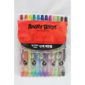 Licensed Angry Birds 12 cs. Twistable Color Pencils