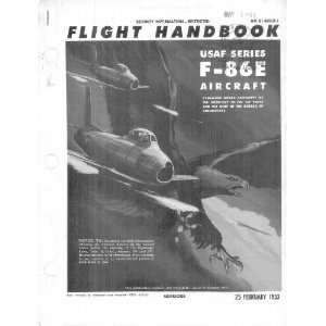 Aviation F 86 A Aircraft Flight Manual Sicuro Publishing Books