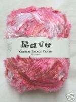 RAVE Crystal Palace Ribbon Yarn CODE PINK single