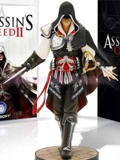 Assassins Creed Ezio 2 II Black White Cosplay Costume Anime all 8