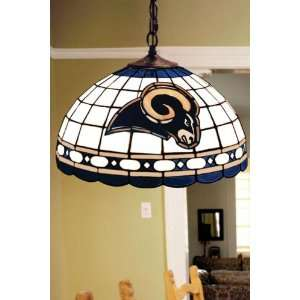 Team Logo Hanging Lamp 16hx16l Stlouis Rams Home