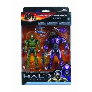 Halo Reach Series 2 Spartan Vs Elite 2 Pack Figure