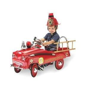 Morgan Cycle Rescue Fire Engine Pedal Car Spors