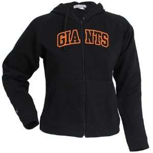 San Francisco Giants Womens Applique Full Zip Hoody by