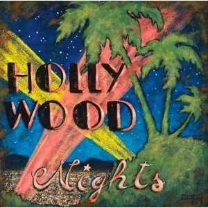 Hollywood Nights Vinyl Wall Mural