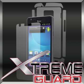 Galaxy S II 2 AT&T Version Only FULL BODY LCD Screen Protector Case