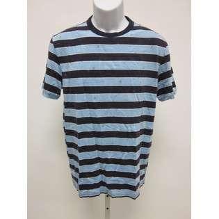 NWT RALPH LAUREN RUGBY Mens Purple Blue Stripe Shirt M