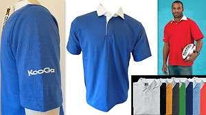 KOOGA Short Sleeve Sportswear Printable CVC Jersey *NEW+TAG*