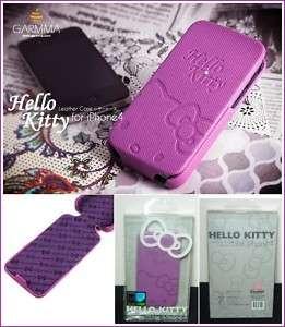 GARMMA Hello Kitty Swarovski Crystal iPhone 4S/iPhone 4 Case (Purple