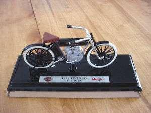 Harley Davidson 1909 Twin 5D V Twin Maisto 118 NIB