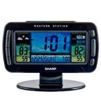 Atomic Wireless Weather Station Clock