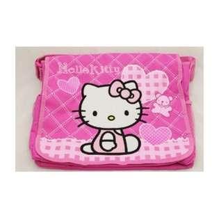 Hello Kitty Sanrio Hello Kitty Pink Heart Messenger Bag