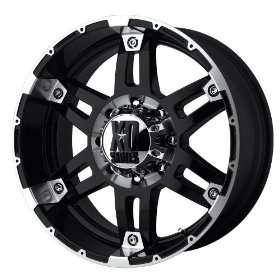 XD Series Spy XD797 Gloss Black Machined Wheel (18x8.5