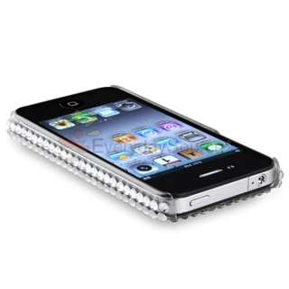 Rhinestone Bling Hard Case Cover For iPhone 4 4S 4G 4GS 4G