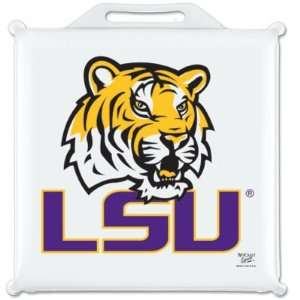 LSU TIGERS OFFICIAL 14X14 SEAT CUSHION: Sports
