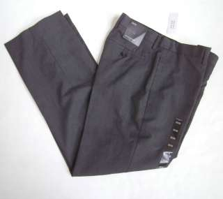 Banana Republic Men Charcoal Gray Dress Pant 34 Ins NWT