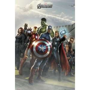 The Avengers   Marvel Movie Poster (Flight Deck) (Size 24