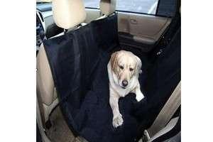 NEW Pet Dog Cat Waterproof Black Hammock Car Seat Cover Protector