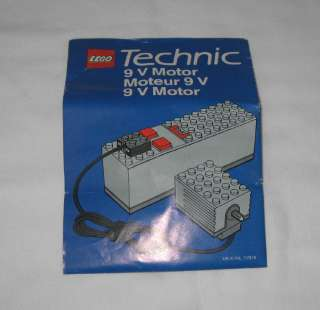 1980s LEGO TECHNIC #8720 POWER PACK SET COMPLETE IN ORIGINAL BOX