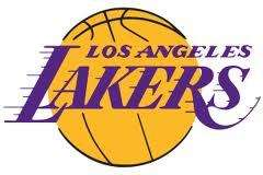 Basketball Nail Decals Set of 20   Los Angeles Lakers