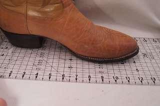 Tony Lama Brown 12 D Mens Western Boots