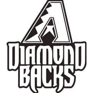 Arizona Diamondbacks MLB Vinyl Decal Sticker / 8 x 9.4