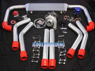T3/T4 TURBO/CHARGER KIT CHEVY SBC CAVALIER S10 2.2L 2.4